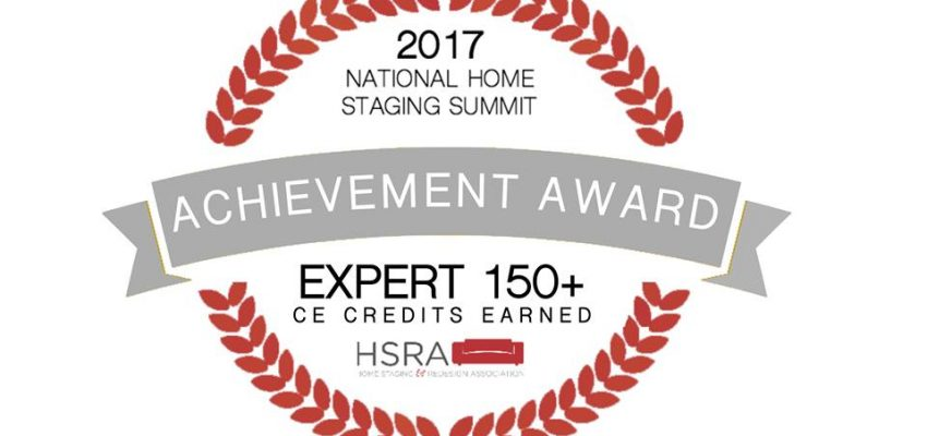 Yay - An Achievement Award! - Home Staging by NB Designs Home Staging